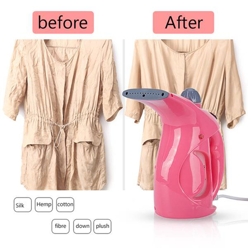 Image 5 - Popular 200ML High quality PP Garment Steamer Portable Clothes Iron Steamer Brush For Home Humidifier Facial Steamer EU PlugGarment Steamers   -