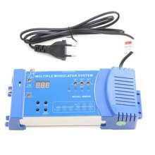 MMS80 Home Modulator Aluminium Alloy Multiple Modulation System UHF EU Plug 100 240V HDMI compatible wireless Home Modulator