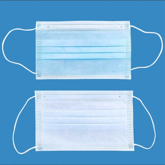 50pcs Anti-Pollution 3 Layers Mask Dust Protection Face Masks Disposable Dust Filter Safety Mask Proof Flu Earloop Face Masks 5