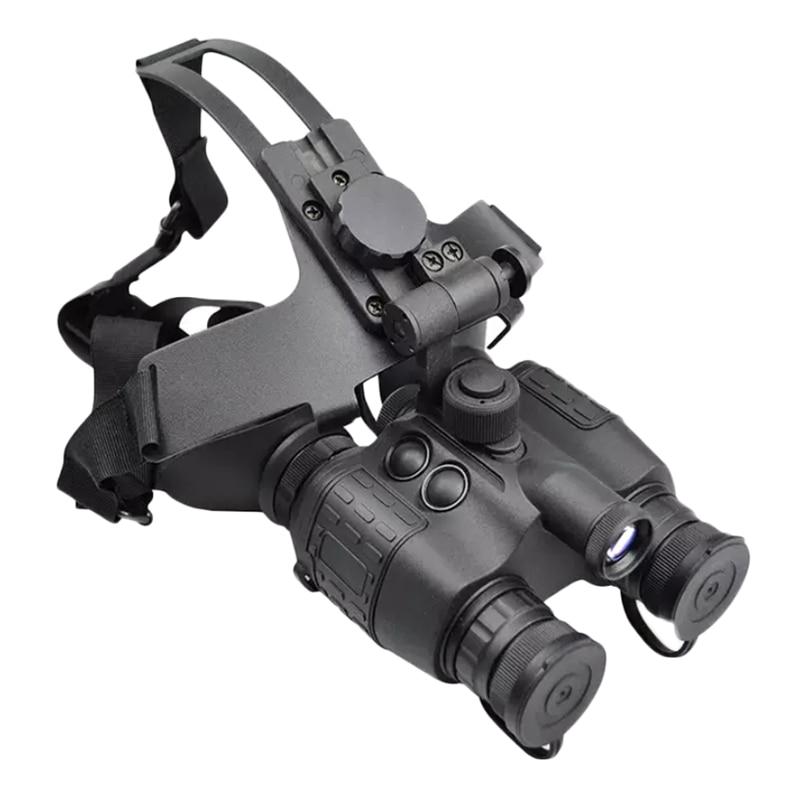 1x26 HD Infrared Anti-glare Vision Helmet Head-mounted Night Goggles Binocular Patrol Tactical Hunting Scope
