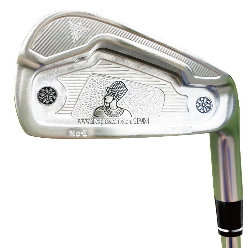 New Men Golf Clubs KENTACK Golf Forged Irons 4-9P Irons Clubs Graphite Shaft Regular Or Stiff Golf Shaft Cooyute Free Shipping