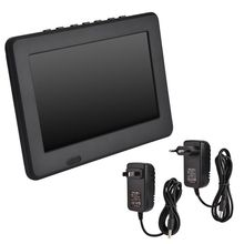 Led tv pour LEADSTAR ISDB-T 7 pouces lecteur de télévision couleur numérique Rechargeable lecteur de télévision écran TFT-LED