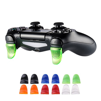 1 Pairs L2 R2 Buttons Trigger Extenders Gamepad For PS4 Controller Game Accessories For PlayStation 4 Extension Button Trigger