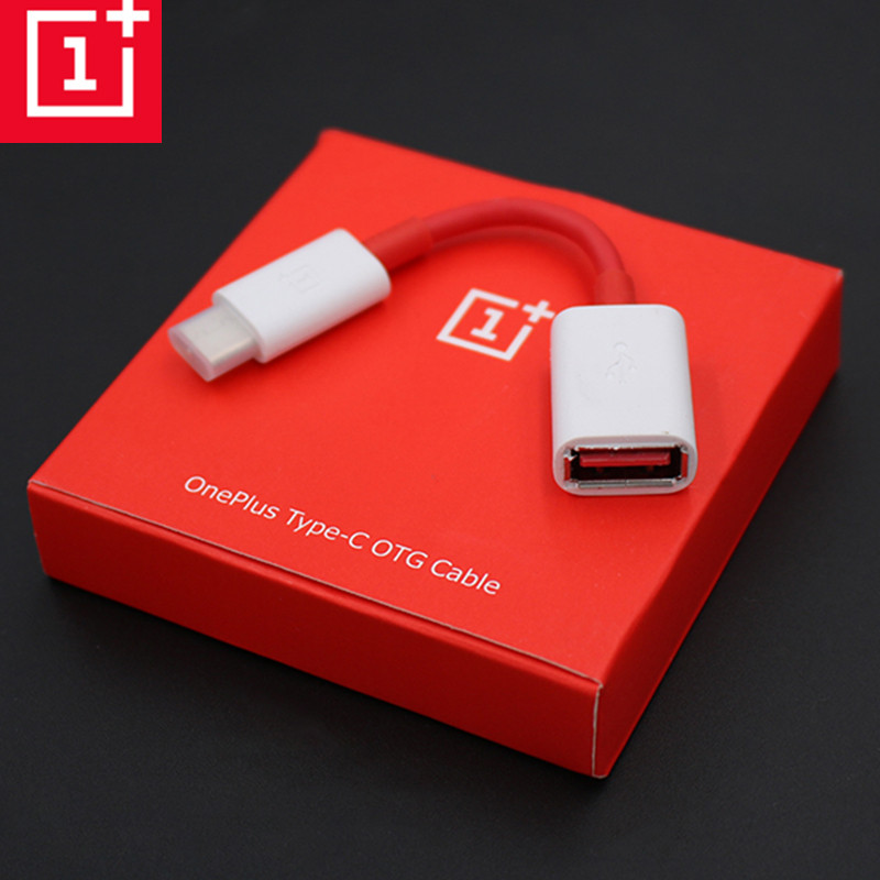 Original OnePlus OTG Cable For One Plus 3 3T 5 5T 6 6t Converter Data Charger Adapter Support Pen Drive/U DISk Mouse Game Handle
