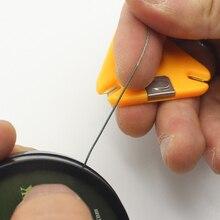 1 sztuk narzędzie do połowów karpia powlekane Braid Stripper Rig narzędzie usuń powlekane Hooklink przecinak żyłki podajnik wędkarskiego akcesoria