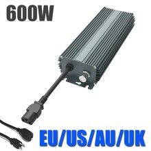 600 Вт Цифровой балласт для MH или сельскохозяйственная лампа 240 В диммируемая цифровая пуско-регулирующая аппаратура для лампа для выращивания растений