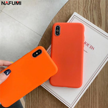 Get more info on the Scrub Orange Solid Color Phone Case For Huawei Nova 4 3 3i 3e P10 P20 Mate 10 20 Lite Pro Honor 8 8X 8A 9i 10 Lite P Smart Cover