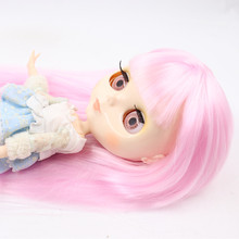 Factory Neo Blythe Dolls Shiny Face Colorful Hair Jointed Body 30cm