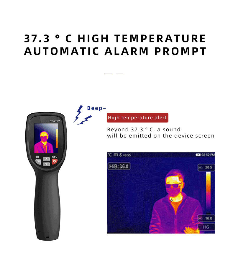 Infrared Thermal Camera With Live Streaming to Computer or TV Bluetooth For Human Body 18
