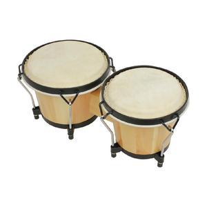 Wooden African Bongos Drum Per
