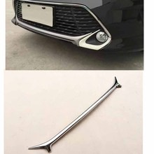 For Toyota Camry Sports section 2015-2017 Chrome styling ABS Front Lower Bumper Grille Bottom Cover Protector Strip Trim
