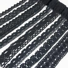 (5 metros/rolo) preto algodão bordado bud tela de seda fita decoração diy decorativo costura artesanal artesanato materiais
