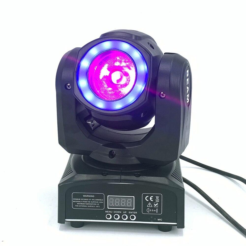 Iluminación DJ de mini cabeza móvil led 60W haz etapa led luz con 12LED SMD5050 RGB LED super brillante luz estroboscópica foco DMX control Led Medusa luz de noche hogar Decoración de acuario lámpara de noche creativa atmósfera luces moda profesional hermosa