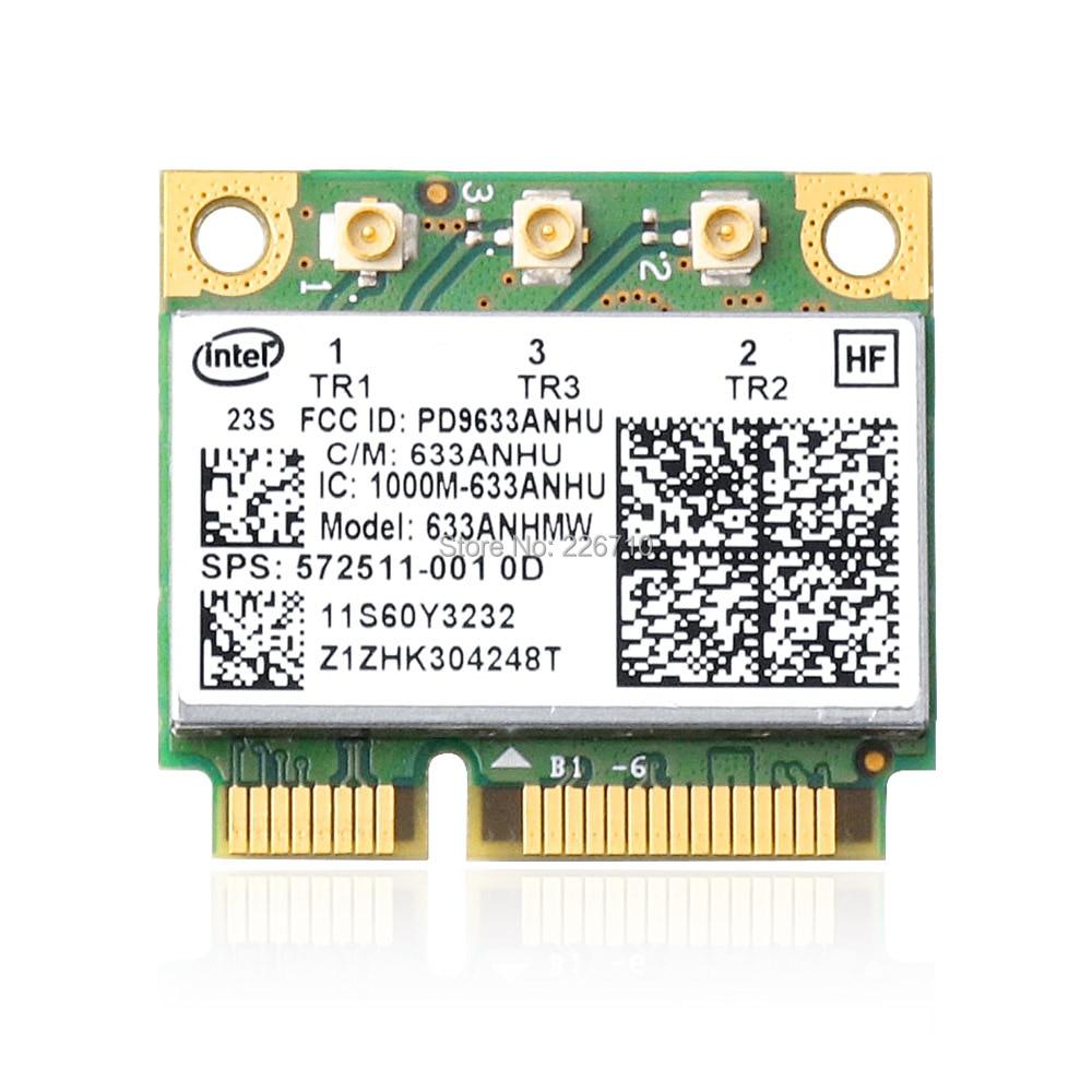 633ANHMW 450m WiFi Adapter WLAN Card Intel Centrino Ultimate-N 6300 572511-001 HP EliteBook 8440P 2540P Notebook PC L.enovo(China)
