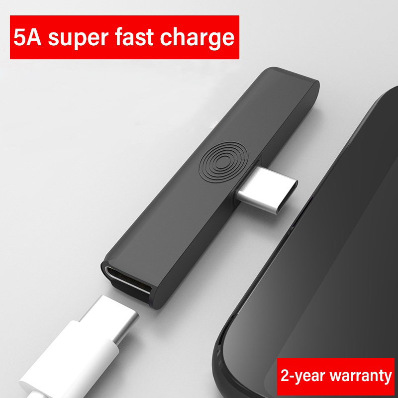 USB Type C Hub Adapter USB C Supercharger Connector For Huawei P20 P30 Lite 2 In 1 Phone Connector Gaming Adaptator For Samsung