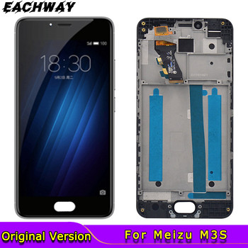 100% Tested 1280x720 Meizu M3S LCD Display Touch Screen Digitizer Assembly With Frame Replacement For 5.0 MEIZU M3S Display 100% tested original lenovo s90 lcd display touch screen digitizer pannel assembly with frame replacement s90 t s90 u s90 a tool