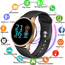 LIGE fitness tracker smart watch Waterproof Sport For IOS Android phone Smartwatch Heart Rate Monitor Blood Pressure monitor+box(China)
