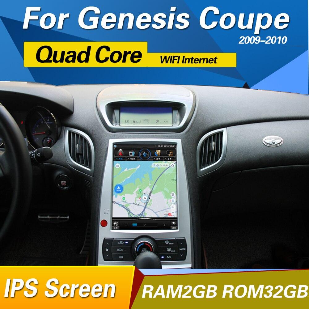 10.1 pouce Android 6.0 autoradio stéréo GPS Navigation tête unité pour Hyundai rohens coupé 2009-2012