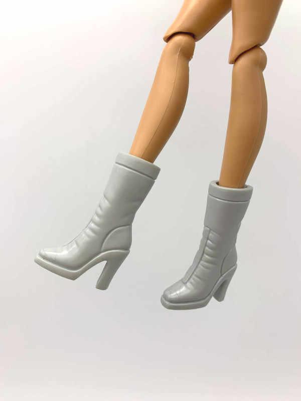 Yeni stiller bebek ayakkabı oyuncak ayakkabı çizme sandalet aksesuarları Barbie 1:6 bebek A180