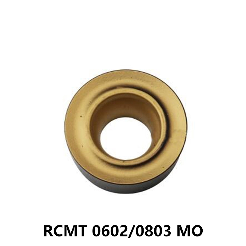 10pcs Carbide Inserts RCMT0602 RCMT0803 RCMT0602MO RCMT0803MO RCMT 0602 0803 NX2525 UE6110 US735 Turning Tool Lathe Cutter CNC