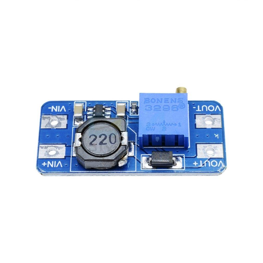 Dc-Dc Boost Module 2A Booster Board Wide Voltage Input 2/24V Liter 5/9/12/28V Adjustable 2577 High Quality