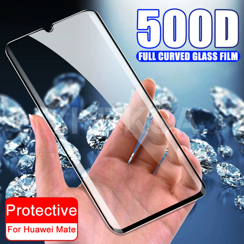 500D Tempered <font><b>Glass</b></font> on the For <font><b>Huawei</b></font> <font><b>Mate</b></font> 30 <font><b>20</b></font> 10 <font><b>Pro</b></font> <font><b>Mate</b></font> 30 <font><b>20</b></font> 10 9 Lite 20X Screen Protector Protective <font><b>Glass</b></font> Film Case image