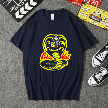 COBRA KAI T-shirts Men/Women Summer Cotton Tops Tees Print T shirt Men loose T-shirt Homme Fashion T