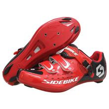Sidebike Road Bike Cycling Shoes Outdoor Anti-skid Wear resistant Bicycle Lock Men sports Shoe
