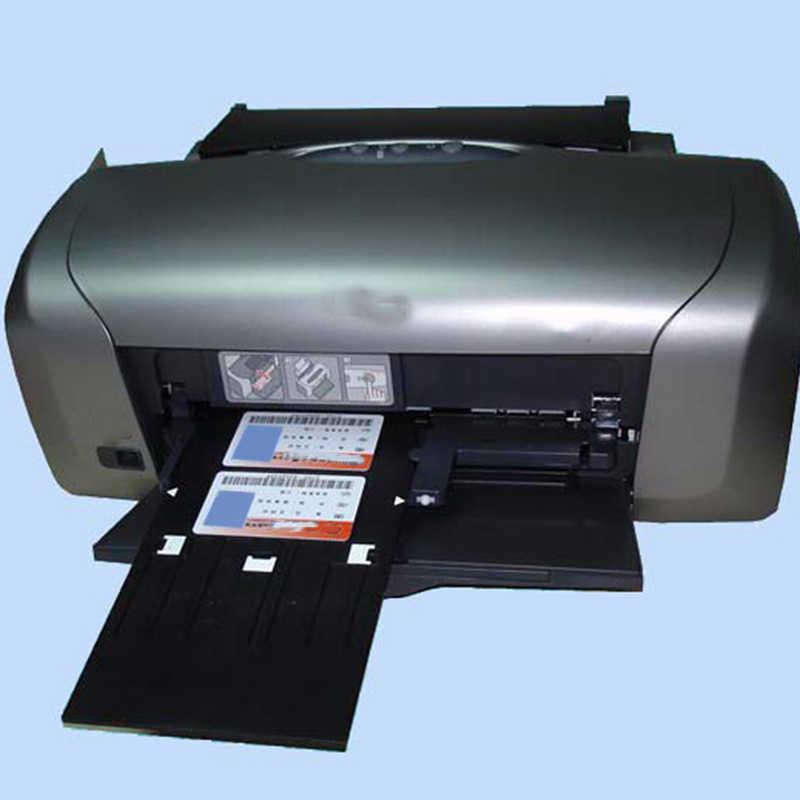 Identyfikator z pvc + 1Pc identyfikator z pvc taca do projektora Epson T50 T60 R260 R265 R270 R280 R290 R380 R390 RX680 A50 P50 L800 L801 R330 L850