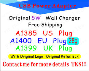 Adapter Wall-Charger A1400 Us/au-Plug Packaging Power 8-X-Plus Usb Ac for 6s 7 with 100pcs/Lot