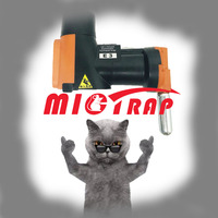 Máquina de trampa multicaptura fácil para ratas y ratones A24, con cilindros de CO2, humana y no tóxica, inteligente para automóbil, reinicio, Mata roedores