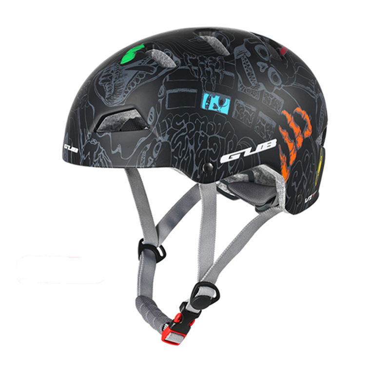 3 Colors Round Mountain Bike Helmet Men Women Outdoor Skating Climbing Extreme Sports Safety Helmet Racing Road Helmets 55-61cm image