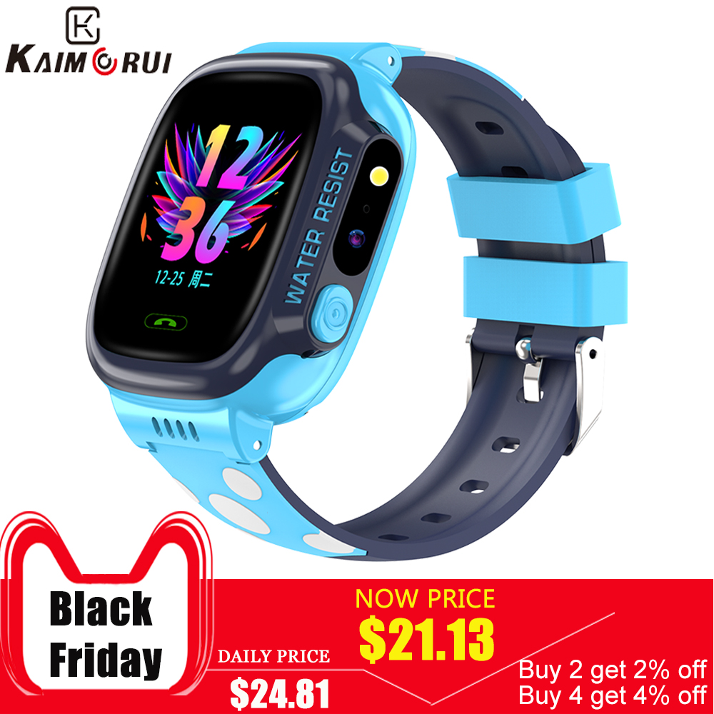 <font><b>Kids</b></font> Smart Watch for Children WIFI GPS Location Tracker Child Watch SOS Call Baby Watch 2G SIM Card <font><b>Smartwatch</b></font> for <font><b>Kids</b></font> PK <font><b>Q50</b></font> image