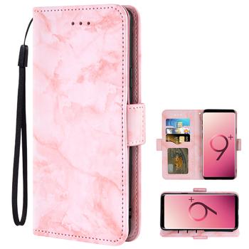 Odwróć pokrywa skórzany portfel etui na telefony do Samsung Galaxy S21 Ultra 5G S20 FE S10e Lite S9 Plus S8 aktywny S7 S6 krawędzi S20FE S 21 20 10 9 8 7 6 S21ultra S21plus S20ultra S20plus S10plus S9plus S8plus S7edge tanie i dobre opinie Asuwish CN (pochodzenie) Etui z portfelem Marble Texture Magnetic Leather Flip Wall Case Card Holder Phone Cover Zwykły