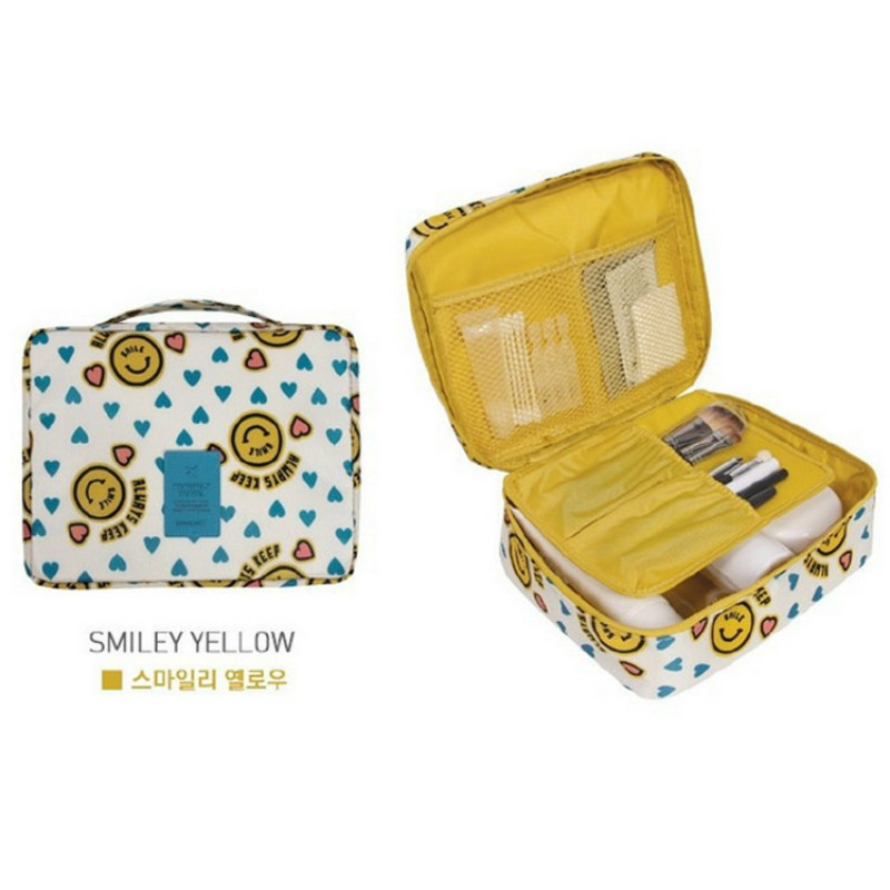 Nylon Packaging Cube Travel Bag System Durable Set of Large-capacity Unisex Clothing Classification Tissue Bag New Cosmetic Bag