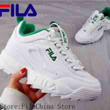 FILA Disruptor II 2 New Men and Women Running Shoes Female Sports