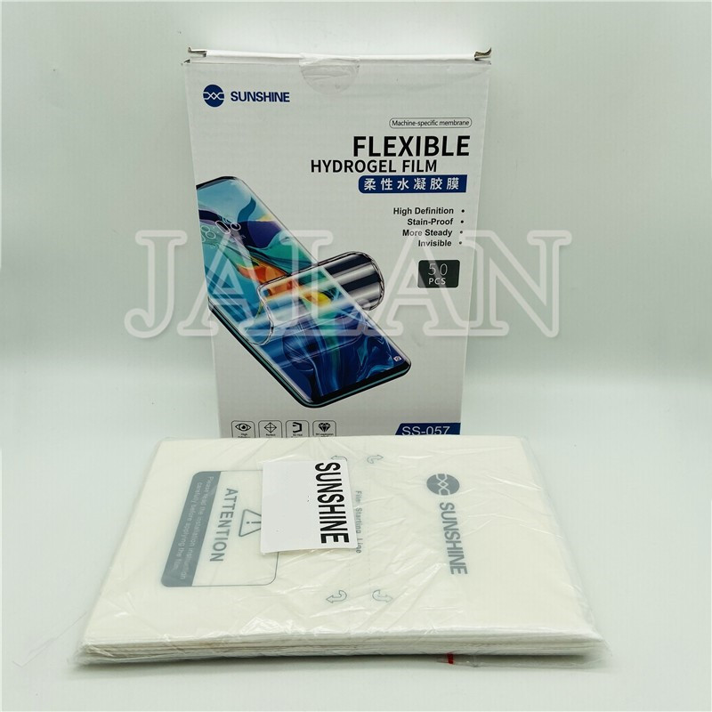 SS-057 Sunshine Flexible Hydrogel Film For SS-890C Machine Cutting Front F Ilm