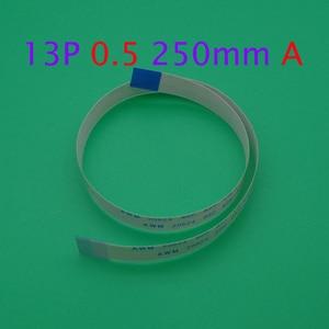 1pcs FFC/FPC Flat Flex Cable 13Pin Same Side 0.5mm Pitch AWM VW-1 20624 80C 60V Length 25cm(China)