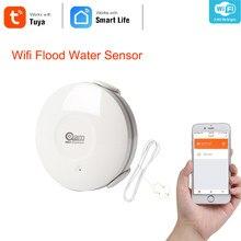 Смарт-датчик утечки воды NEO Coolcam, Wi-Fi датчик утечки, с оповещениями об уведомлениях от приложений, поддержка IFTTT