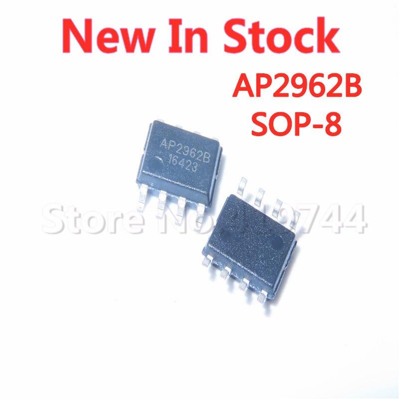 5 шт./лот AP2962B AP2962BSEER лапками углублением SOP-8 асинхронный понижающий преобразователь для автомобиля зарядное устройство чип в наличии новый ...