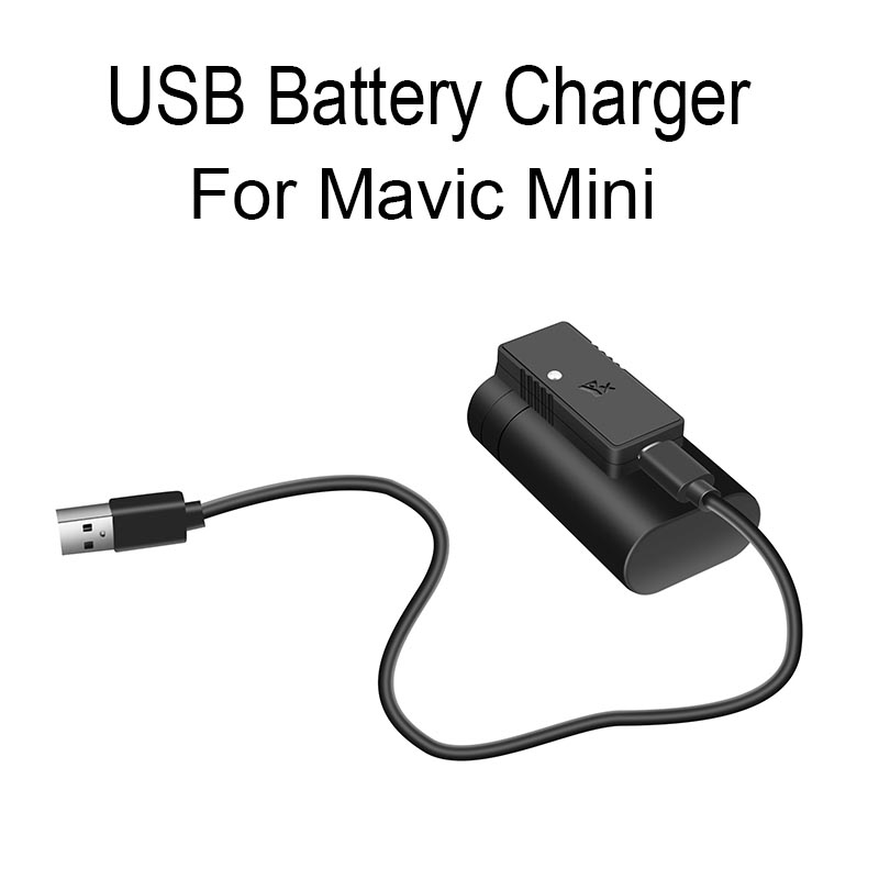 USB Quick Charger For DJI Mavic Mini Drone Battery Charging Hub Portable Charger Type-C Port Cable Accessories