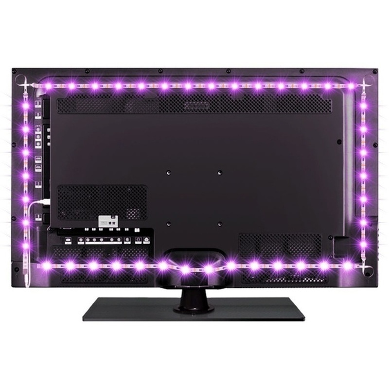 H49b620dbeabe4391bf87aac70e3f92cag - 5V USB TV LED Strip Light Lamp Tape 3528 SMD Diode Flexible HDTV TV Desktop Screen Backlight Decor RGB Bias Lighting 0.5M/1M