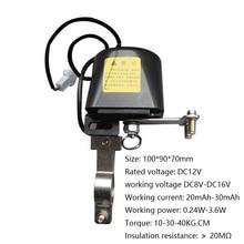 DC8V DC16V válvula de seguridad para tuberías de Gas, dispositivo de seguridad para cocina y baño, manipulador automático