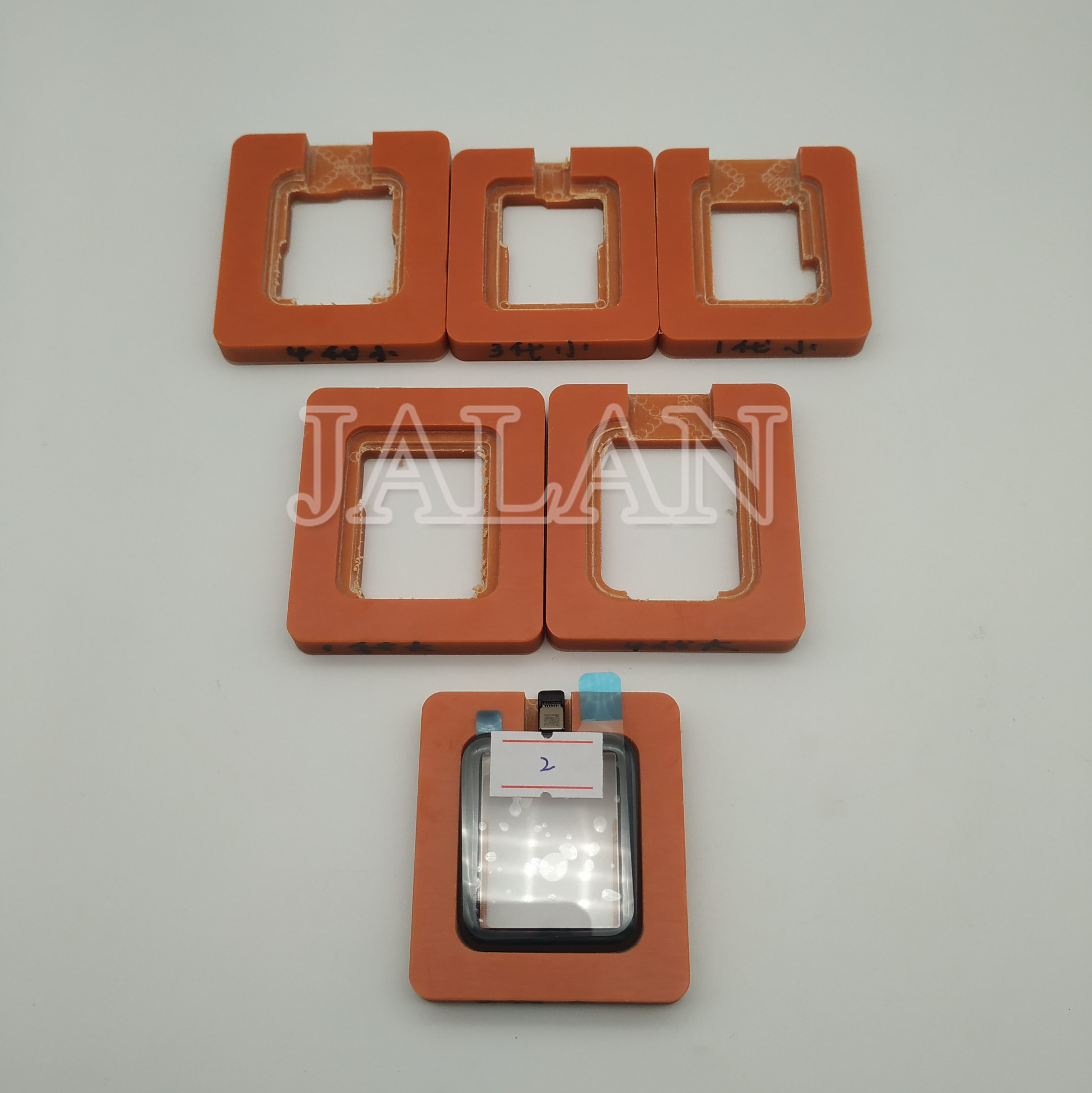Precision Plastic Alignment Mold For Apple Watch Series 1 2  3 4 38mm 42mm 40mm 44mm LCD Display Touch Laminating Repair Use