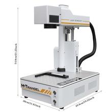 M triangel Machine à graver au Laser en Fiber autofocus, pour téléphone X XS, XS max, 8, 8P 11, séparation de la vitre arrière, 20W