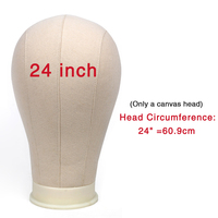 24inches only head