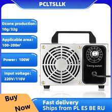 Gerador portátil do ozonizador o3 do ozonizador de ozonizador de ozonizador da casa do purificador de ar de pcltsllk portabl 220v 32g 10g com interruptor de sincronização