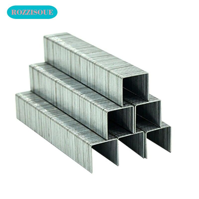 1000PC Silver Grapadoras Grapas Staples Office Stationery Staple Grapas 23/10 Binding Supplies Thick Layer Staple Metal Tapetool