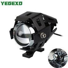 Faro LED para motocicleta U5, accesorios de motocicleta para Yamaha ttr250, BMW gs 1200, Honda cb600f, Yamaha r25, Suzuki, ltz, faro KTM