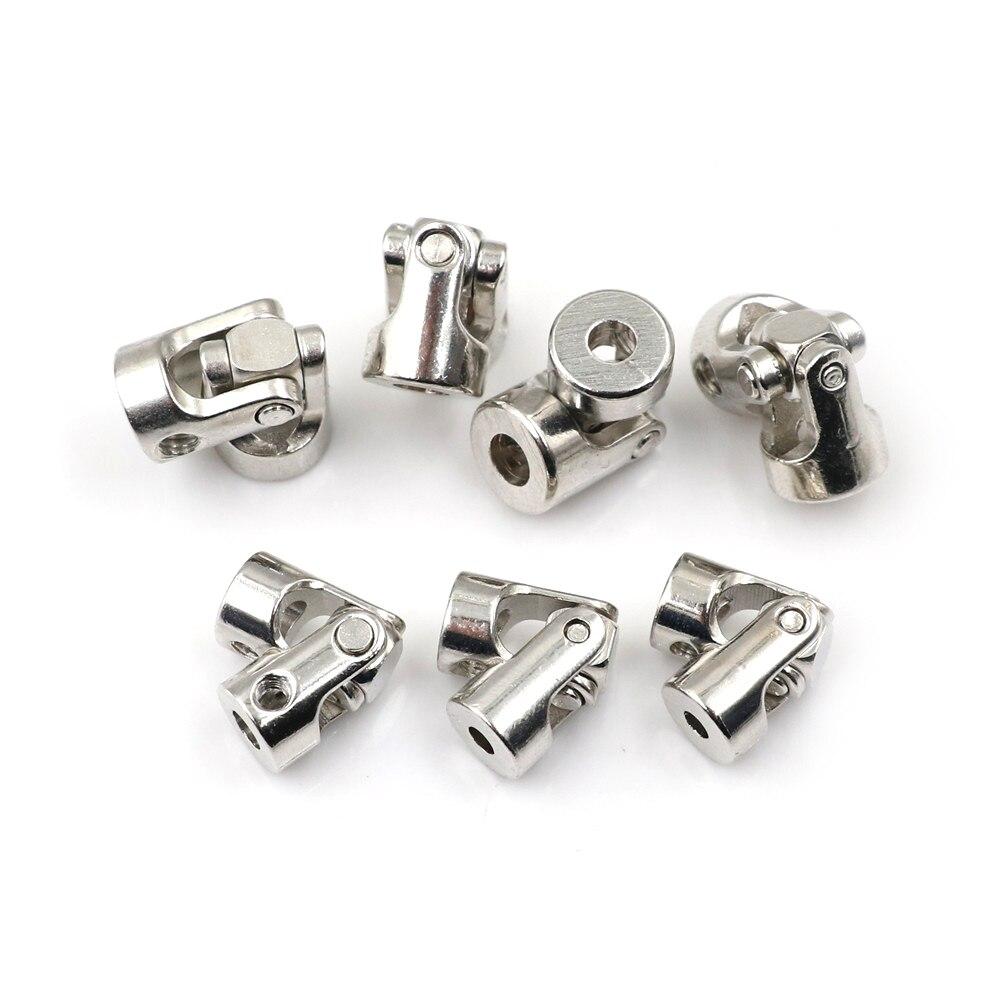Junção universal dos acoplamentos do cardan da junção do metal para 4*3mm/4*4mm/5*4mm/5*5mm/5*6/6*6mm rc barco parte o accessarie